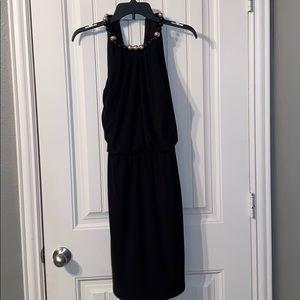Black banquet dress